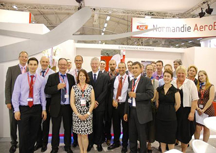 Normandie AeroEspace s'expose au Bourget