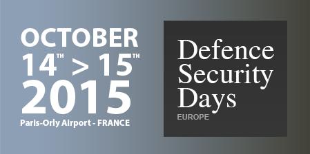 14-15 octobre 2015 – Defence et Security Days – Paris-Orly