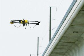 La SNCF et l'Onera s'unissent pour développer des drones de surveillance des 30 000 kilomètres de voies – Ferroviaire