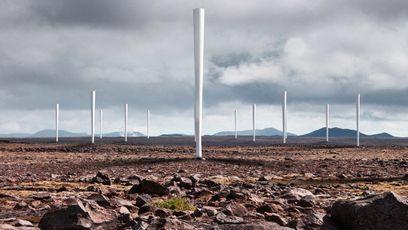 Des éoliennes sans pales