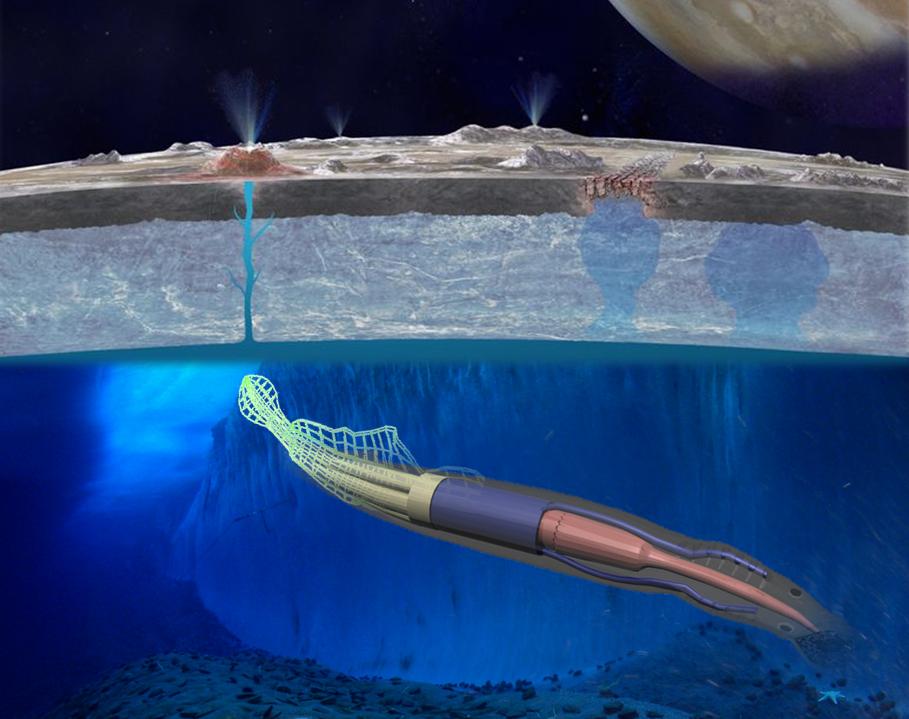 La NASA imagine un robot-anguille autonome pour explorer les océans extraterrestres – Spatial