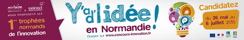 1ers trophées normands de l'innovation – C'est parti!