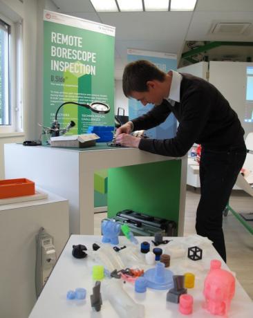 Snecma dévoile son laboratoire d'idées high-tech à Villaroche