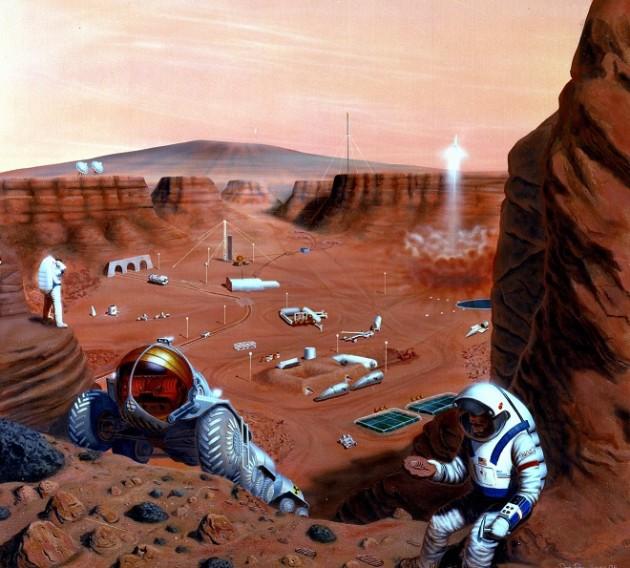 La Nasa lance un concours internet pour concevoir les futures maisons martiennes