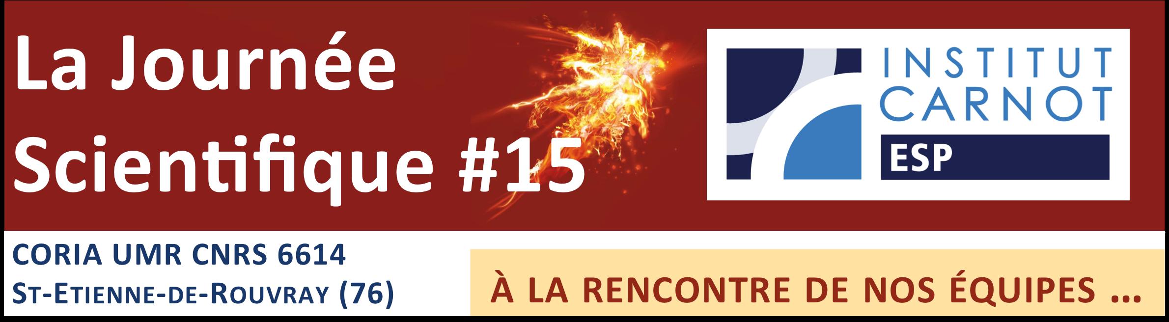 Journée Scientifique #15 – institut Carnot ESP