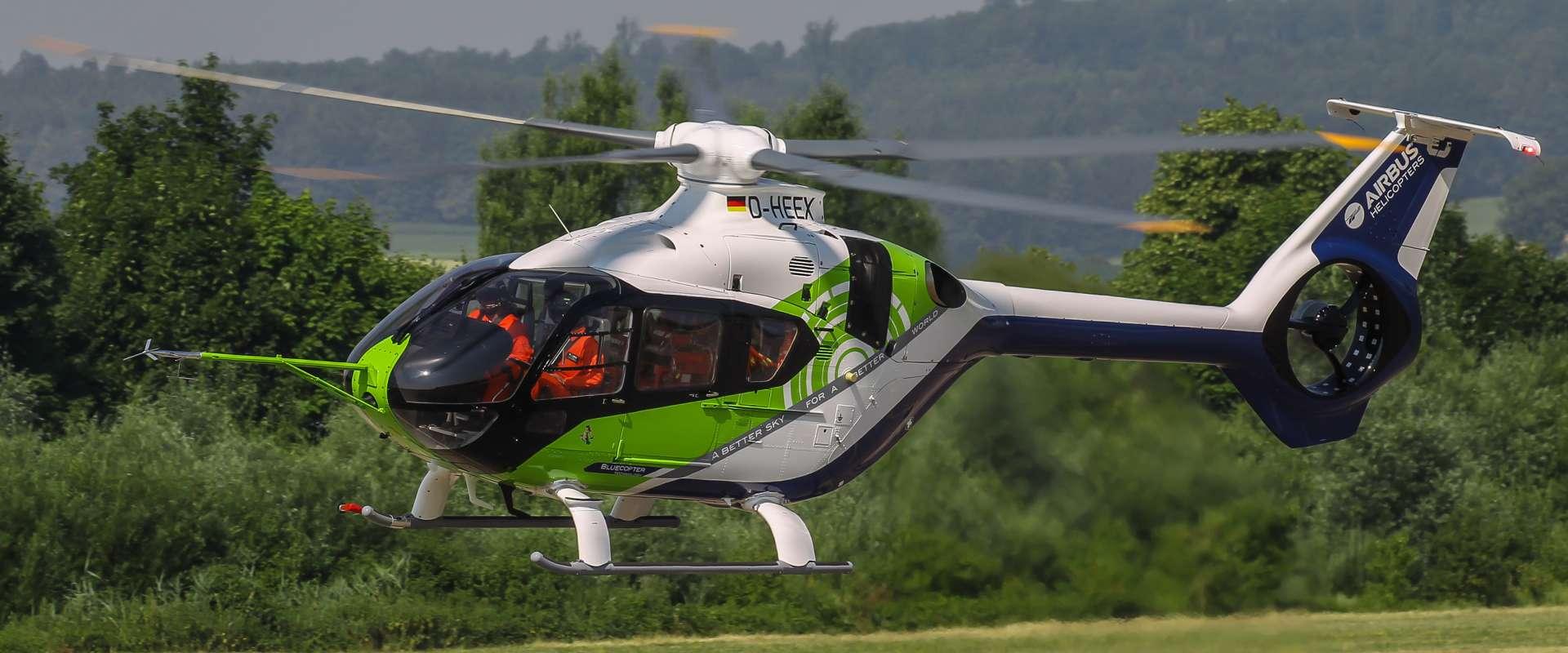 Airbus Helicopters dévoile son laboratoire volant, le Bluecopter – L'Usine de l'Aéro