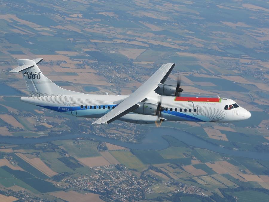 Clean Sky: premier vol avec un ATR – Air&Cosmos