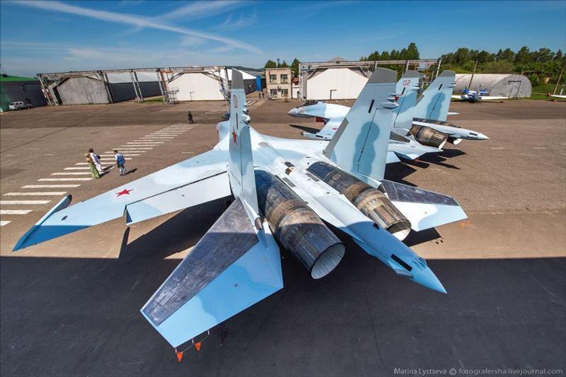 L'armée de l'air russe réceptionne des Su-34 et Su-35S – Air&Cosmos