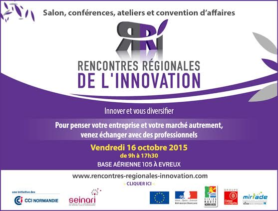 rencontres régionales de l innovation evreux