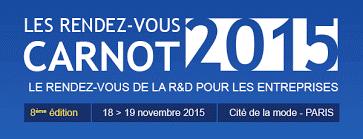 18-19 novembre 2015 – Les Rendez-vous Carnot – Paris