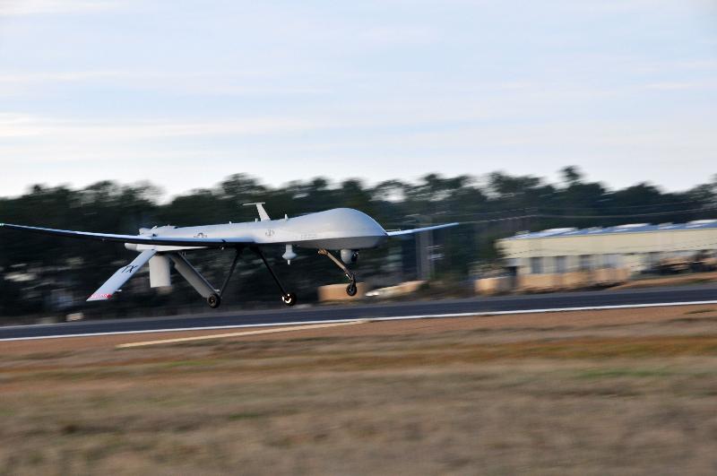 Deux Predator déployés en Lettonie – Air&Cosmos