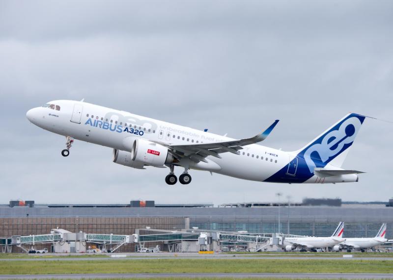 Airbus fait voler le deuxième A320neo motorisé par des CFMI Leap – Air&Cosmos