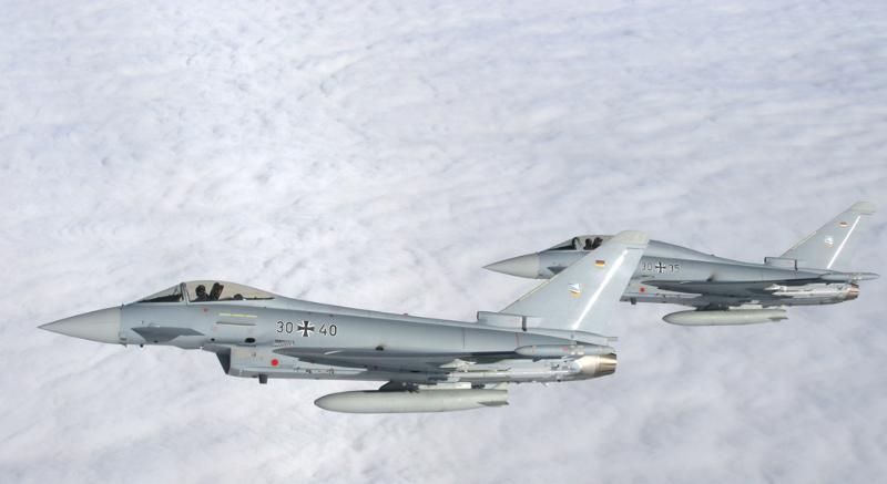 Problème de réservoir supplémentaire pour l'Eurofighter – Air&Cosmos