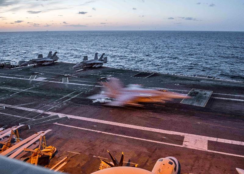 Deux avions russes interceptés près de l'USS Ronald Reagan en mer du Japon – Air&Cosmos