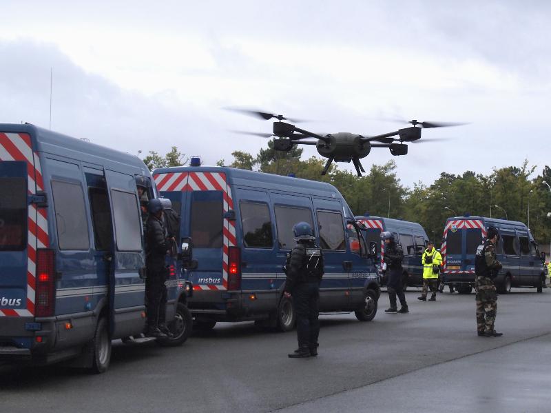 La Gendarmerie sélectionne son micro-drone – Air&Cosmos