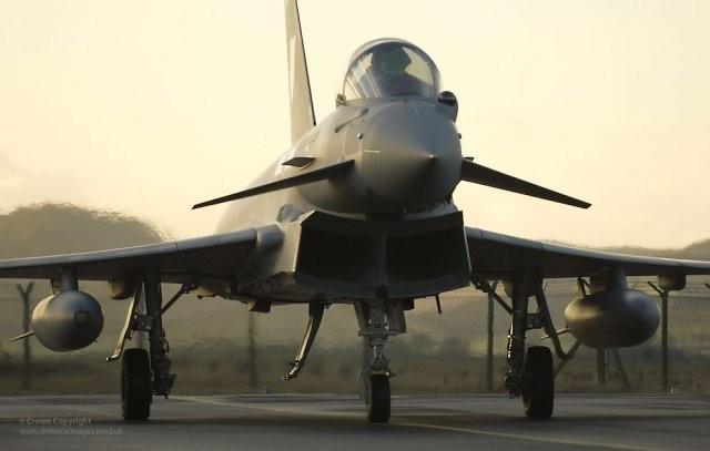 La RAF cannibalise ses Typhoon – Air&Cosmos
