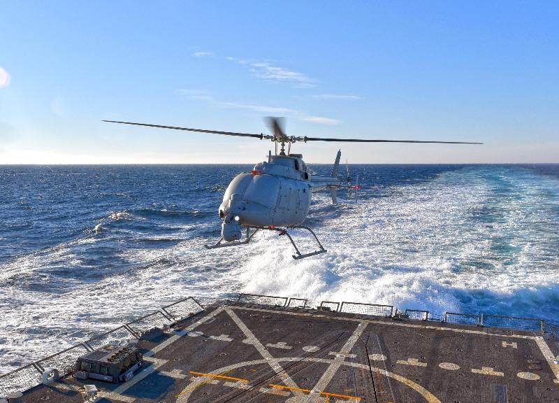Vers la production en série du drone MQ-8C – Air&Cosmos