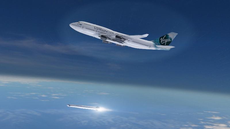 Un Boeing 747-400 pour le lanceur aéroporté de Virgin Galactic – Air&Cosmos