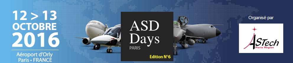 AeroSpace Days le Mercredi 12 et jeudi 13 octobre à l'aéroport D'Orly Paris