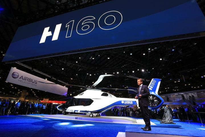 Les meilleures innovations en 2015 : le H160, l'hélico ultra techno – L'Usine de l'Aéro
