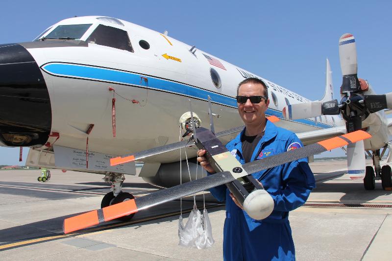 Coyote : le drone qui ausculte les ouragans – Air&Cosmos