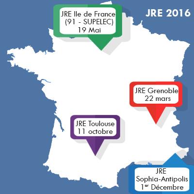Dossier d'inscription aux JRE 2016 – Journées Régionales de l'Electronique