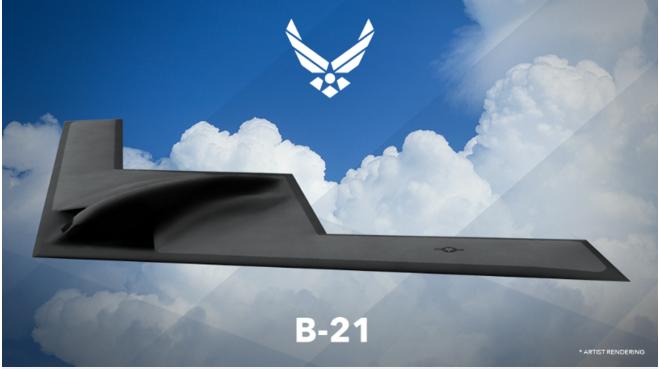 L'USAF dévoile son futur bombardier B-21 – Air&Cosmos