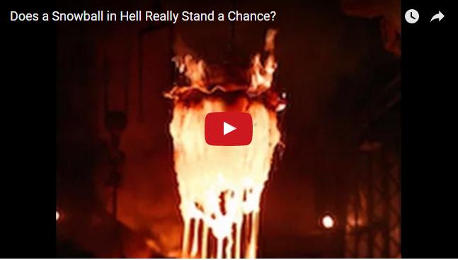 L'industrie c'est fou : une boule de neige peut-elle résister à l'enfer d'un bain de métal fondu ? – Métallurgie – Sidérurgie