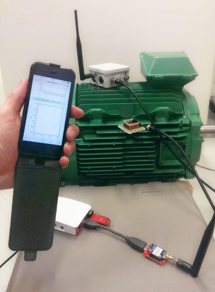 Une première au LSEE : Un moteur électrique connecté à votre smartphone | MEDEE