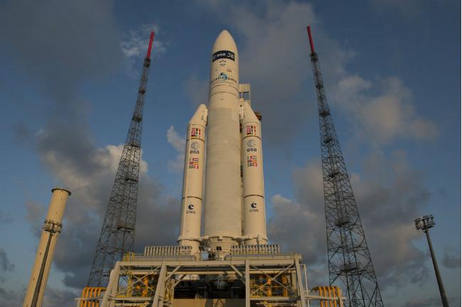 [VIDEO] Ariane 5 réussit son 71ème lancement consécutif
