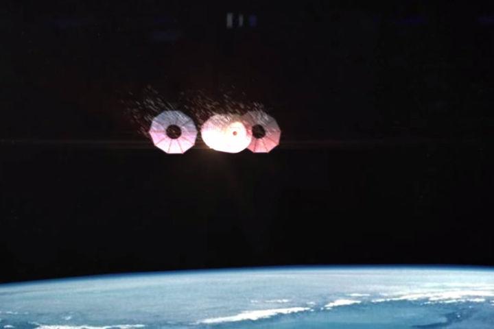 La Nasa met le feu à un vaisseau spatial – L'Usine de l'Aéro