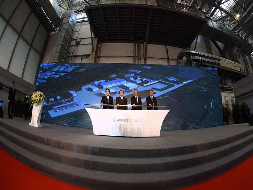 Airbus A330 : la construction du site de Tianjin est lancée – Air&Cosmos