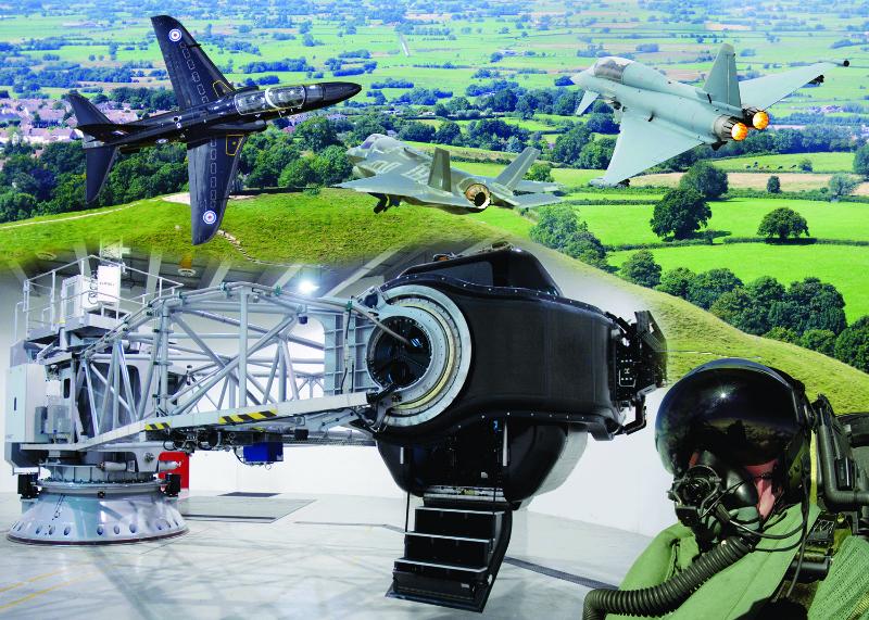 Thales va fournir un centre d'entrainement pour les pilotes de chasse britanniques – Air&Cosmos