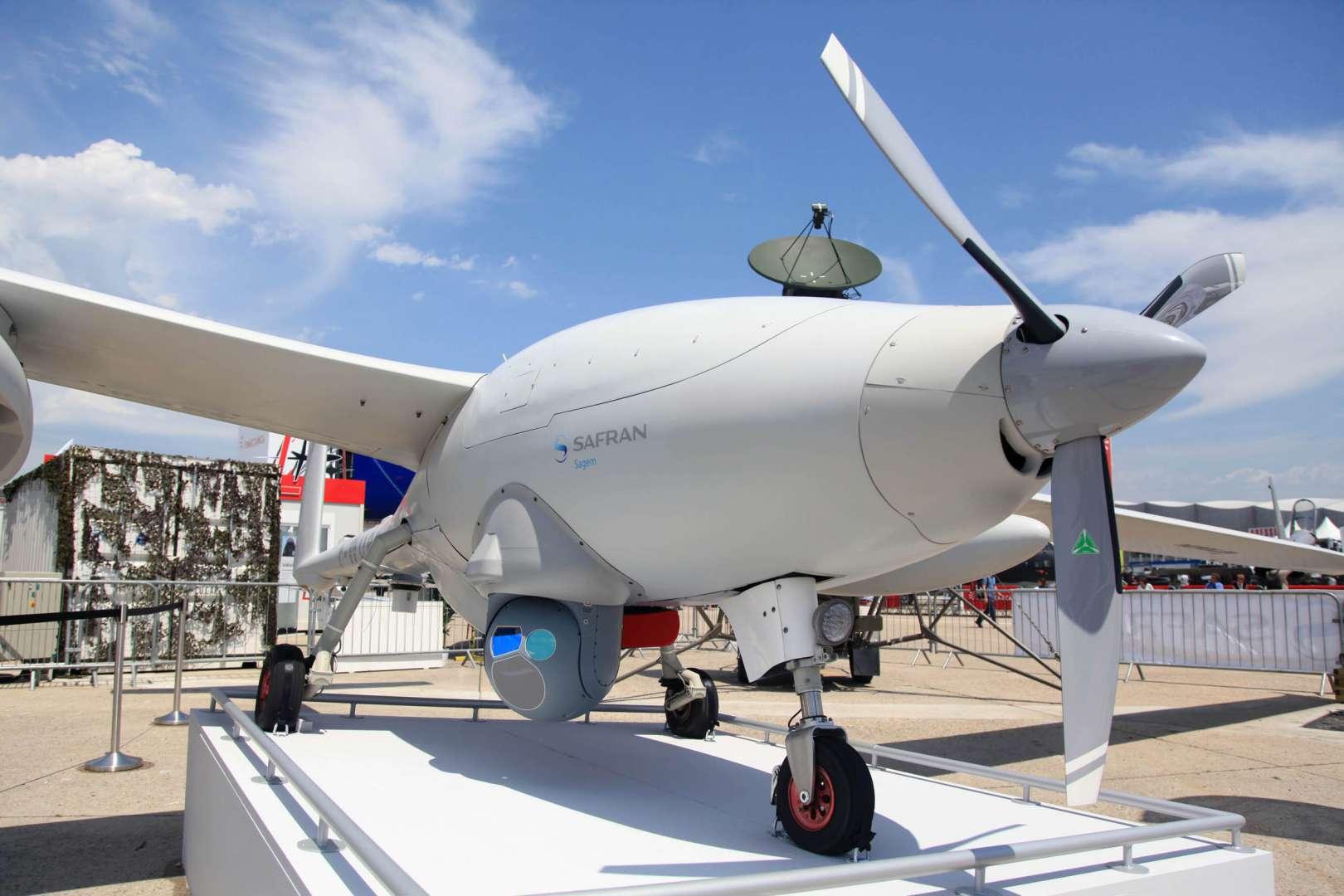 L'Etat commande 14 drones Patroller à Sagem qui les assemblera à Montluçon – L'Usine de l'Aéro