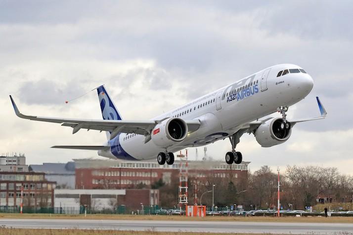 Aircelle – L'A321neo a pris son envol avec Aircelle à bord