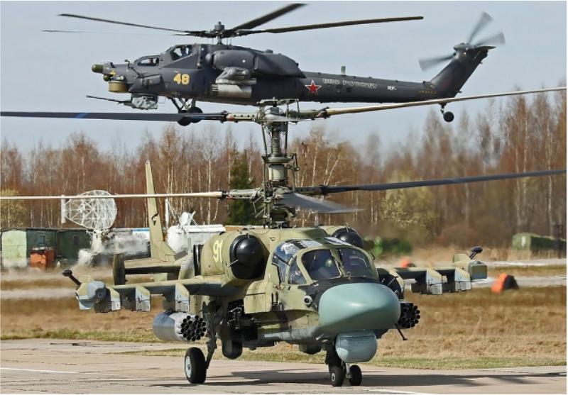 Syrie : la Russie engage ses plus récents hélicoptères d'attaque – Air&Cosmos