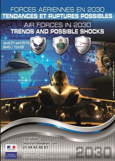 colloque « Forces aériennes en 2030. Tendances et ruptures possibles » – Air&Cosmos