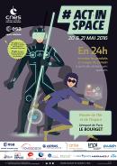 ActInSpace : concours d'innovation (à partir des technologies spatiales)  – 03/05/16 – 17h00