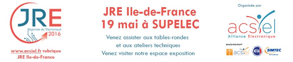 ACSIEL – JRE SUPELEC 19 mai > Table ronde «Concevoir et industrialiser votre objet connecté en France, c'est possible !»