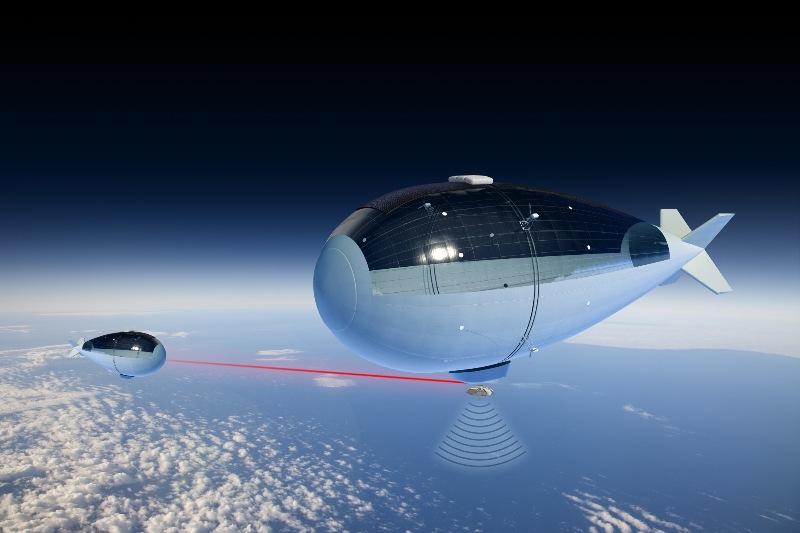 L'envol de Stratobus – Air&Cosmos