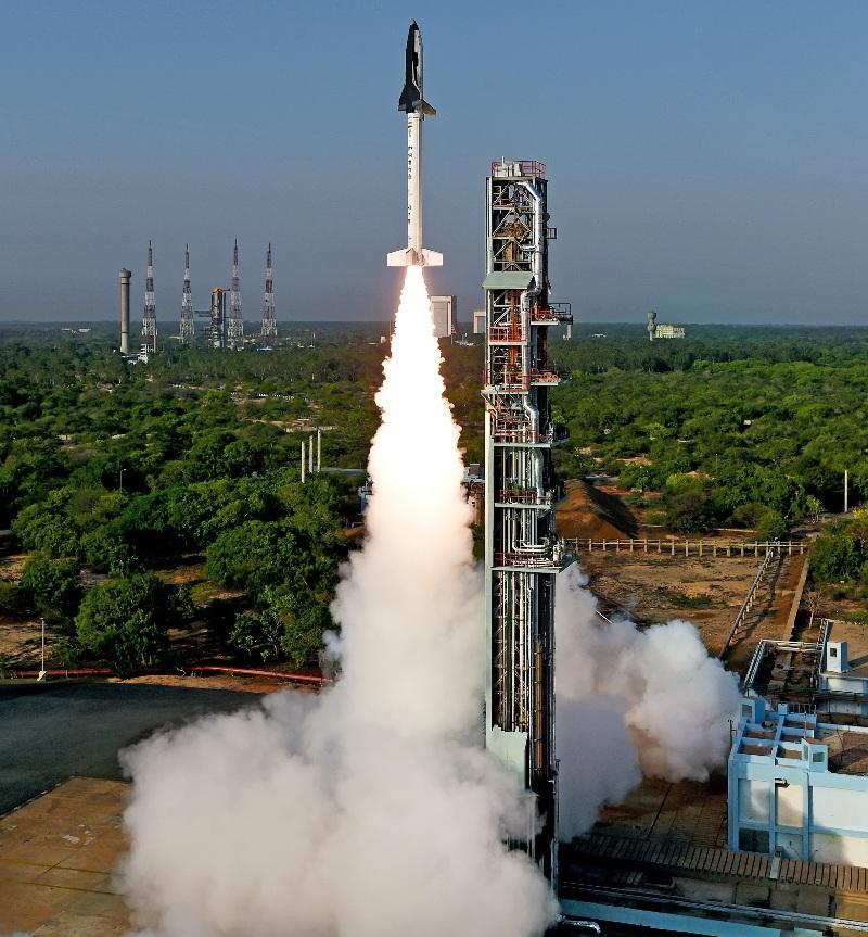 Vol réussi du démonstrateur de mini-navette indienne – Air&Cosmos