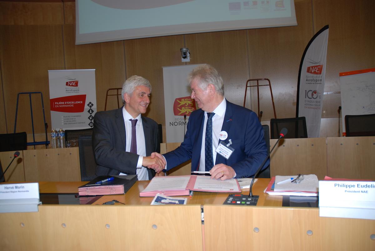 Signature du premier contrat de filière avec la Région Normandie