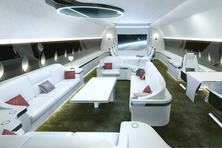 [Vidéo] A Genève, Airbus et Boeing présentent des versions VIP des A350 et 787 – L'Usine de l'Aéro