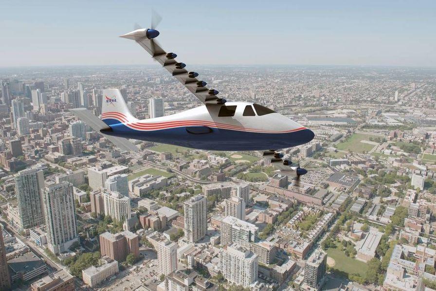 La Nasa veut des avions plus efficaces, plus écologiques et moins bruyants grâce au prototype électrique X-57 «Maxwell»