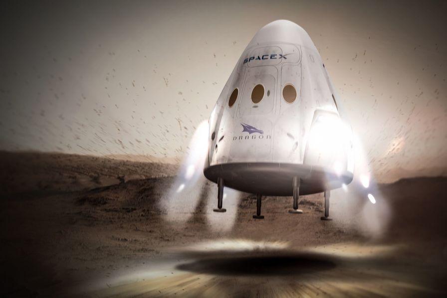 Elon Musk dévoile son plan pour que SpaceX envoie des hommes sur Mars dès 2025