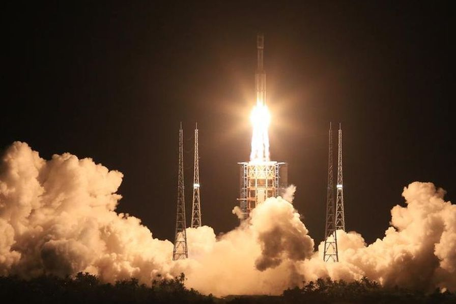 La Chine se dote d'une nouvelle fusée, la Long March 7, et vise Mars à l'horizon 2020