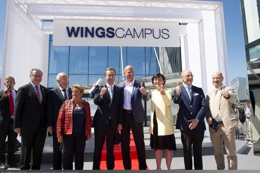 Airbus Group inaugure son nouveau siège mondial à Blagnac