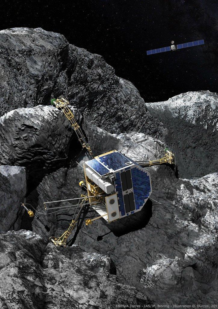 Rosetta va bientôt tirer sa révérence – Air&Cosmos