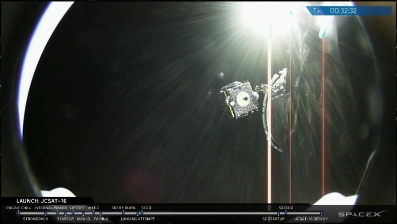 SpaceX: succès du vol F28 et sixième récupération d'étage – Air&Cosmos