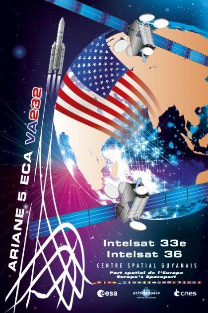 VA 232: Ariane 5 lance deux nouveaux Intelsat – Air&Cosmos